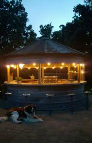 grain bin bar or an outdoor kitchen gazebo playhouse this