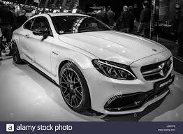 cars mercedes 2017 stuttgart germany march 03 2017 compact luxury car mercedes