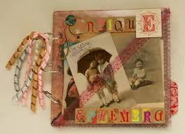 antique photo albums scrapbooks revisited a clear album with pockets for