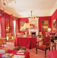 red room inspiration the collected room by kathryn greeley