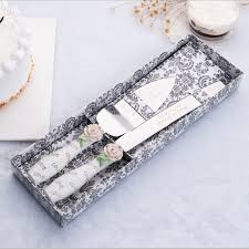 wedding cake serving set 2017 sale wedding favors and gifts free shipping personalized
