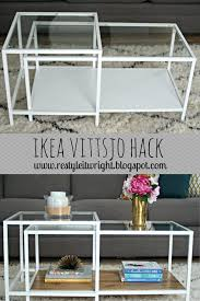 Nesting Tables Ikea by Ikea Vittsjo Hack Nesting Table Wood Stain Coffee Table