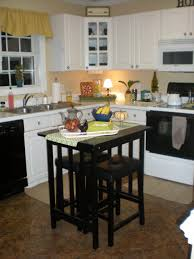 kitchen trendy small kitchen island dining table and butcher