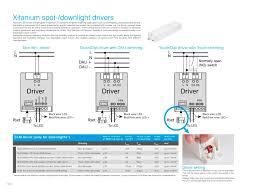 xitanium spot downlight drivers doxis lighting factory n v
