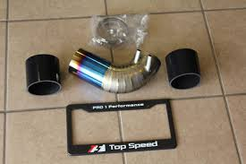 lexus sc300 intake top speed pro 1 titanium air intake pipe k u0026amp n filter for