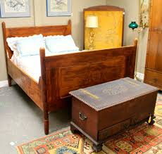 found in ithaca art nouveau bed sold and bonnet chest not