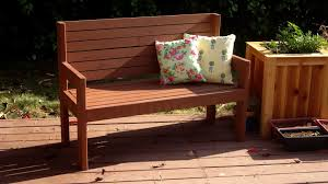 Plans For A Wooden Bench by Build A Really Simple Garden Bench Woodworking For Mere Mortals