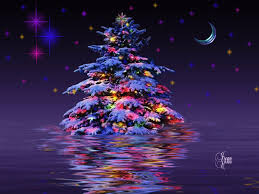 free 3 d christmas background tree wallpapers your selected