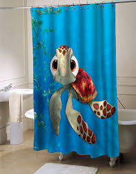 Disney Bathroom Accessories by Finding Nemo Shower Curtain Myshowercurtains Finding Nemo