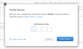 how to activate apple u0027s two step verification for icloud the mac