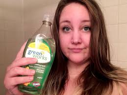 How Do You Wash Hair Extensions by I Washed My Hair With Dish Soap To Get Rid Of Greasy Locks And The