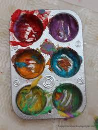 rainbow finger bath paint fspdt