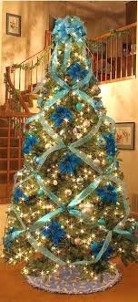 tree decorating ideas ribbon marvelous stain decorations