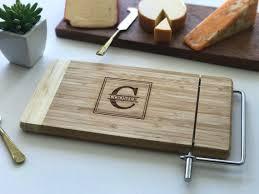 monogram cheese board monogram cheese board engraved cutting board custom name