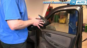 nissan altima 2016 mirror how to install replace side rear view mirror nissan altima 00 01