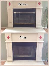 how to paint a brass fireplace insert homestead lifestyle