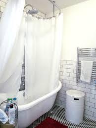 Shower Curtain Track Hooks Chrome Flexible Corner Bath Shower Curtain Rail Track Scifihits Com