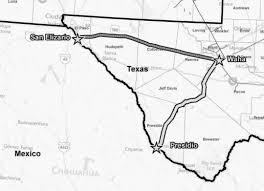 Texas Mexico Border Map by Natural Gas Exports To Mexico On The Fast Track