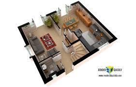 3d Floor Plan Software Free 3d Floor Plans And Layout Renderings