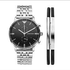 armani watches bracelet images Emporio armani accessories armani mens watch bracelet gift set jpeg