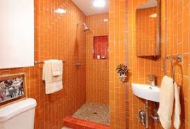 orange bathroom ideas contemporary orange bathroom design ideas pictures zillow digs