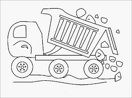 dirty garbage truck coloring page for kids transportation pages