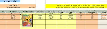 Excel Templates For Inventory Management Economic Order Quantity Eoq Inventory Management Spreadsheet