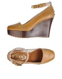 tods chaussures a talon tod u0027s escarpins camel femme tods