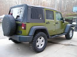 rescue green jeep rubicon j9549