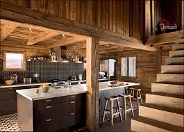 chalet cuisine cuisine bois cuisine moderne chalet en bois