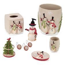 Avanti Bathroom Accessories by Snowman Bathroom Accessories Collection