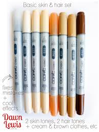 copics for beginners u2013 wish list hair setting copic and markers