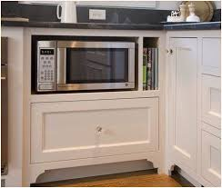 kitchen microwave ideas where to put a microwave in small kitchen modern looks best 25