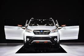 subaru outback 2018 white subaru u0027s new 3 row crossover that replaces tribeca is coming in 2018