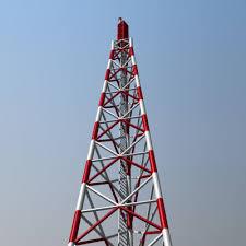 radio tower radio tower 3d cgtrader