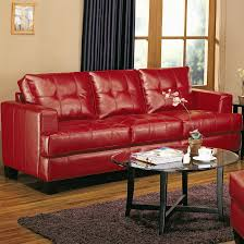 red leather sofa living room sofas austin s furniture depot