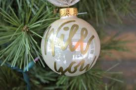 personalized will you me ornament