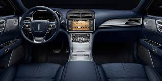 lincoln interior lincoln continental adds blue interior theme ford authority