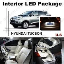 hyundai tucson kit for hyundai tucson 2010 16 xenon white led interior kit white