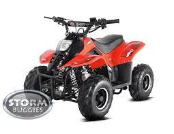 orion mikro vrx70 kids petrol quad bike storm quads fully