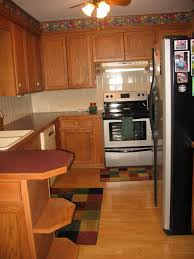 kitchen simple remodeling idea for kitchen with refurbished wood
