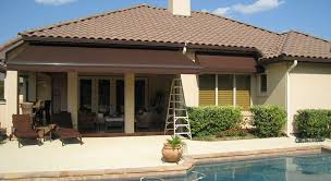 Retractable Awning With Screen Retractable Patio Awning Retractable Solar Screens