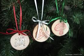 how to make unique wood ornaments