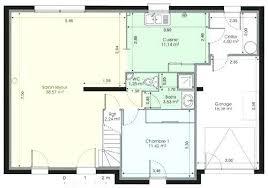 plan maison 4 chambre plan maison en l 4 chambres architectures plan plan la plan plan