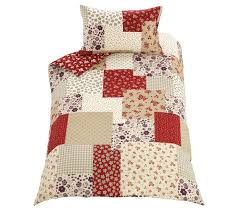 buy home red patchwork bedding set single at argos co uk your