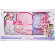 Graco Baby Doll Furniture Sets by You U0026 Me 16 Inch Lovely Baby Deluxe Set Caucasian Toys