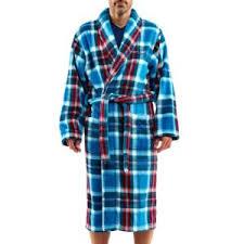 arthur robe de chambre arthur robe de chambre en polaire à carreaux bleu canard verts