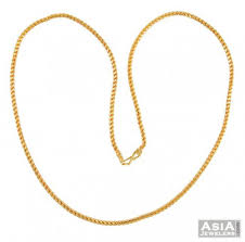 rope necklace designs images Gold rope chain 22k ajch51957 beautifully crafted 22k gold jpg