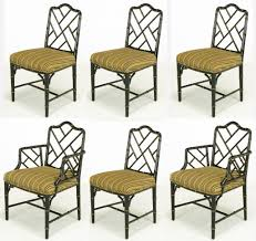 Black Lacquer Dining Room Chairs Bamboo Dining Chairs Gallery Images Of The Chinese Chippendale