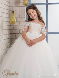 kids wedding dresses kids wedding dresses illusion sleeves 2017 two tones